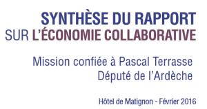 rapport economie collaborative